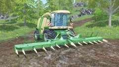 Krone BiG X 1100 animated joystick for Farming Simulator 2015