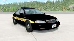 Ibishu Pessima 1996 East Coast Police for BeamNG Drive
