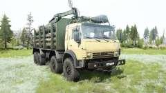 KamAZ-63501 8x8 for MudRunner