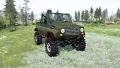 UAZ-469 TR-2 for MudRunner