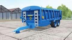 Marshall QM-16 french blue for Farming Simulator 2017
