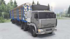 KamAZ-6460 6x4 for Spin Tires