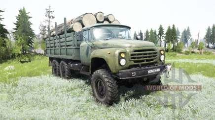 ZIL-MMZ-4511 for MudRunner
