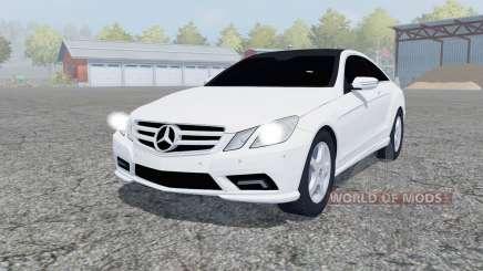 Mercedes-Benz E350 CDI (C207) 2009 for Farming Simulator 2013