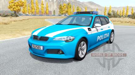 ETK 800-Series Polizia v1.4 for BeamNG Drive