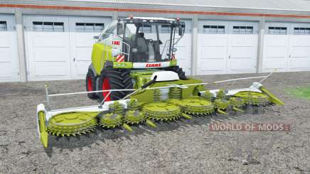 Claas Jaguar 980 and Orbis 900 for Farming Simulator 2015