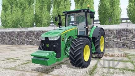 John Deere 8400R 2016 for Farming Simulator 2017