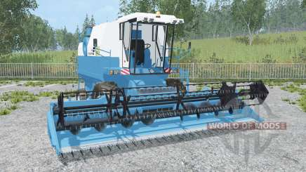 Fortschritt E 524 rich electric blue for Farming Simulator 2015