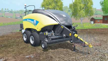New Holland BigBaler 1290 new wheels for Farming Simulator 2015