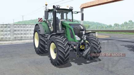 Fendt 828 Vario rim color selection for Farming Simulator 2017