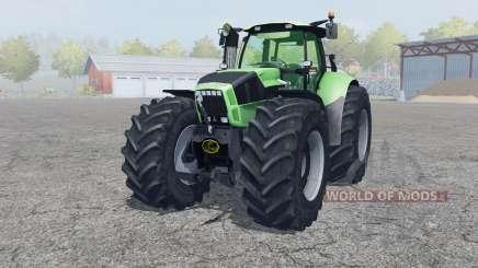 Deutz-Fahr Agrotron X 720 2012 front loader for Farming Simulator 2013