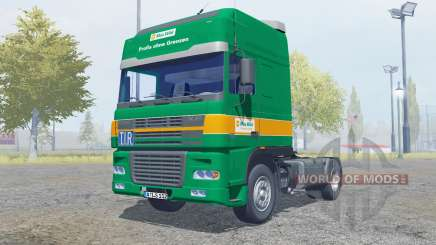 DAF XF95.480 Super Space Cab 2003 Max Wild for Farming Simulator 2013