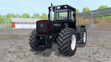 Mercedes-Benz Trac 1800 Intercooler Black Beauty for Farming Simulator 2015
