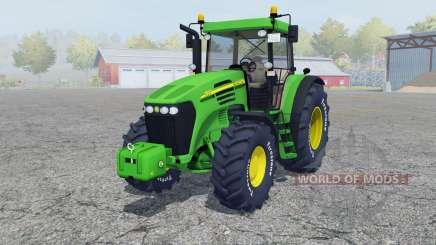 John Deere 7820 add wheels for Farming Simulator 2013