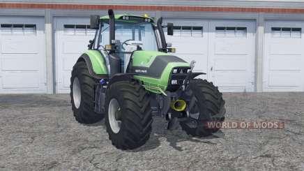 Deutz-Fahr Agrotron 6190 double wheels for Farming Simulator 2013