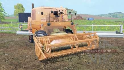 Bizon Z056 tan hide for Farming Simulator 2015