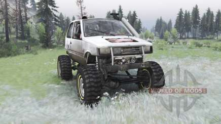 VAZ-1111 Oka off-road for Spin Tires