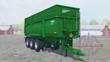 Krampe Big Body 900 green line for Farming Simulator 2013
