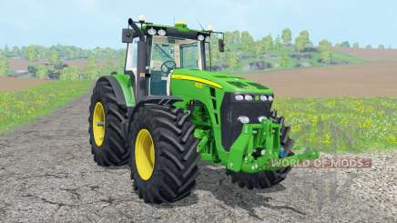 John Deere 8530 ᶒxtra weights for Farming Simulator 2015