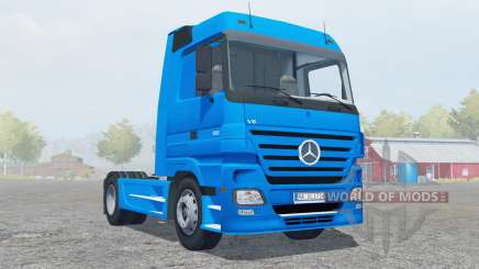Mercedes-Benz Actros 1860 (MP2) 4x4 2005 for Farming Simulator 2013