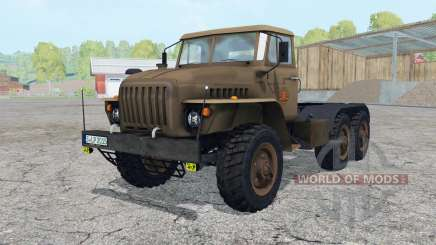 Ural-4420 animated doors for Farming Simulator 2015