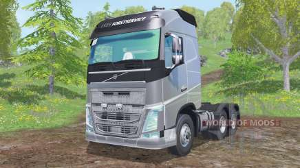 Volvo FH16 750 Globetrotter cab 2014 for Farming Simulator 2015