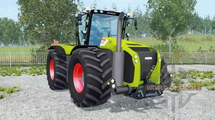 Claas Xerion 5000 Trac VC movable parts for Farming Simulator 2015