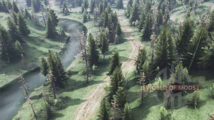 The call of the wild, the Latest work v1.1 for Spin Tires