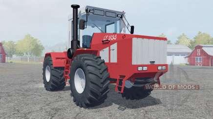 Kirovets K-744 sliding doors for Farming Simulator 2013