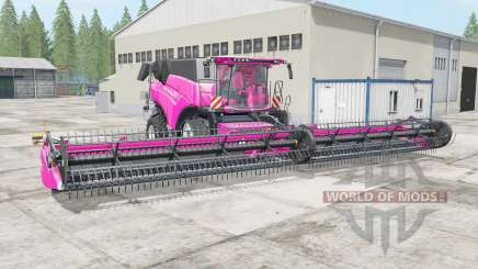 New Holland CR10.90 rose pink for Farming Simulator 2017