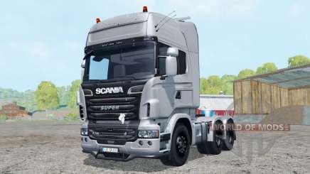 Scania R730 V8 Topline 6x6 for Farming Simulator 2015