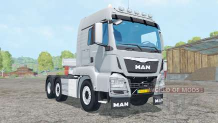 MAN TGS 6x2-4 for Farming Simulator 2015
