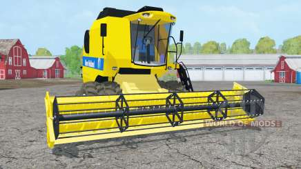 New Holland TC5090 dual front wheels for Farming Simulator 2015