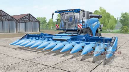 New Holland CR10.90 rich electric blue for Farming Simulator 2017