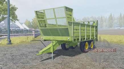 Fortschritt T088 change bodyworƙ for Farming Simulator 2013