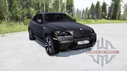 BMW X6 M (E71) for MudRunner