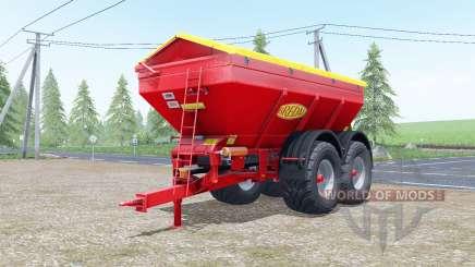 Bredal K165 increases spread for Farming Simulator 2017