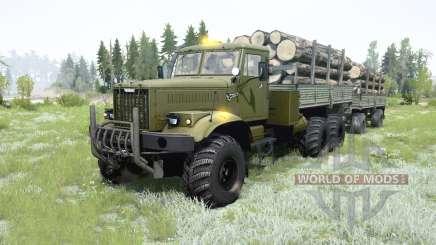KrAZ-255B for MudRunner