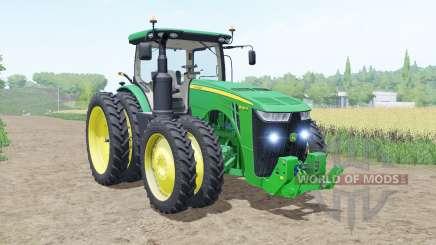 John Deere 8R moving elements for Farming Simulator 2017