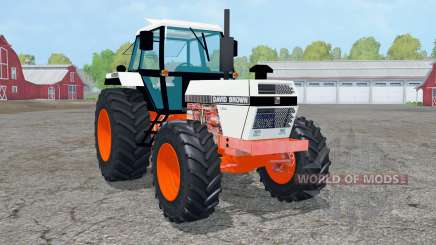 David Brown 1490 4WƊ for Farming Simulator 2015