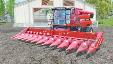 Case IH Axial-Flow 7130 with headers for Farming Simulator 2015