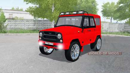 UAZ hunter (315195) for Farming Simulator 2017