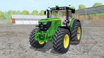 John Deere 6210R animated elemenƫ for Farming Simulator 2015
