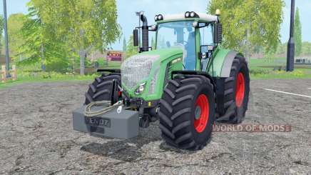 Fendt 936 Vario with weight for Farming Simulator 2015