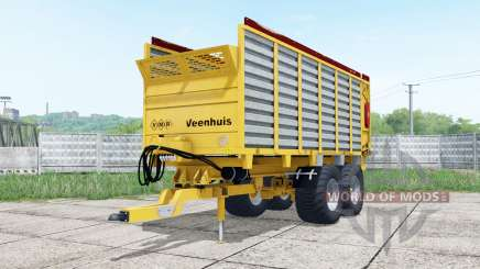 Veenhuis W400 bright yellow for Farming Simulator 2017