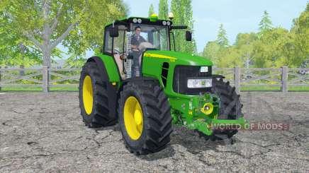 John Deere 7530 Premium islamic green for Farming Simulator 2015