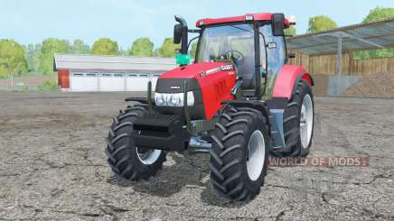 Case IH Maxxum 125 light brilliant red for Farming Simulator 2015