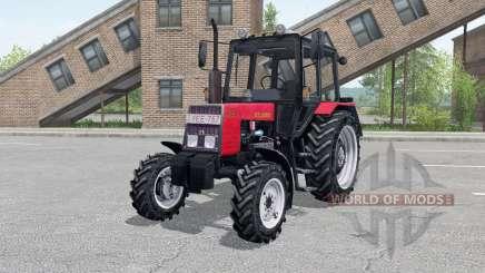 MTZ-820 Belarus console, front loader for Farming Simulator 2017