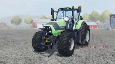 Deutz-Fahr Agrotron 6190 TTV front loader for Farming Simulator 2013