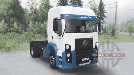 Volkswagen Constellation Tractor for Spin Tires